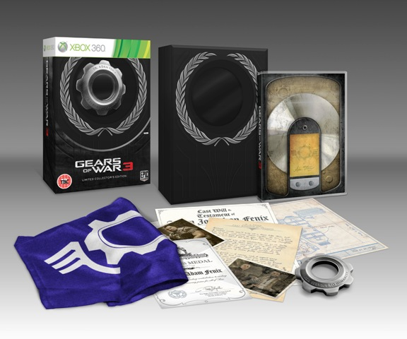 Gears of War 3 - Limited and Epic Edition! (1/2)